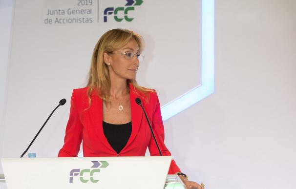 Esther Alcocer en la Junta General Accionistas FCC 2019