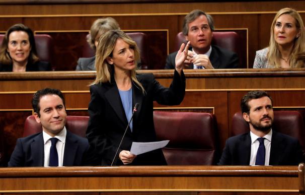 Cayetana Álvarez de Toledo sesión investidura