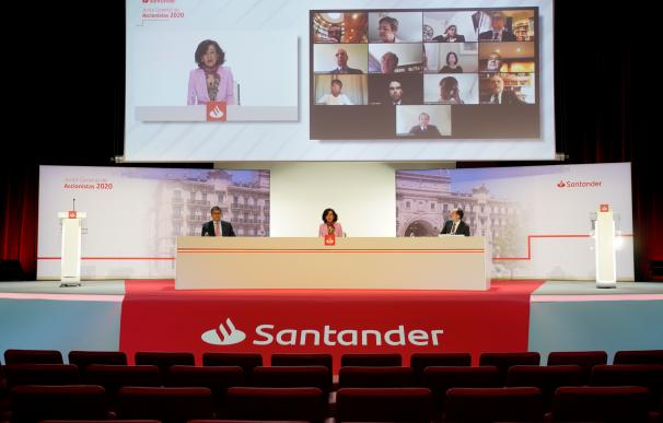 Junta de accionistas de Banco Santander 2020.