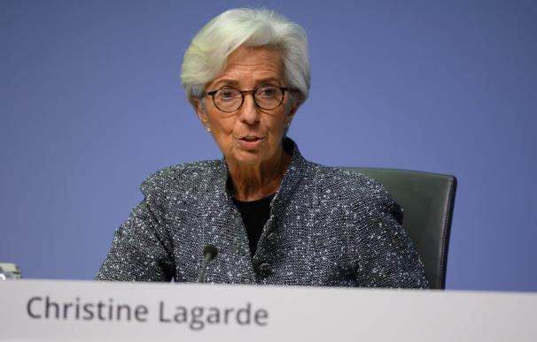 Lagarde es la presidenta del BCE.