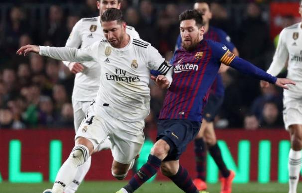Ramos Messi, Barcelona Madrid