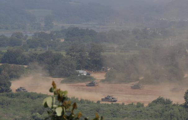 Corea del Sur refuerza su presencia militar en la frontera tras el reto nuclear de Pyongyang