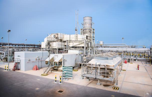 Planta de petróleo de Aramco: Abu Ali