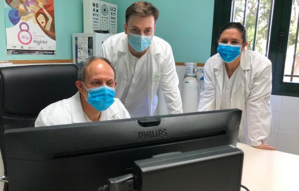 El equipo médico que atiende a Pedro