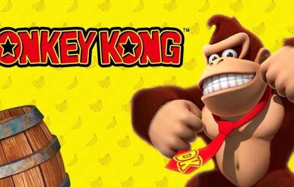 Anuncio del videojuego Donkey Kong. /Nintendo
