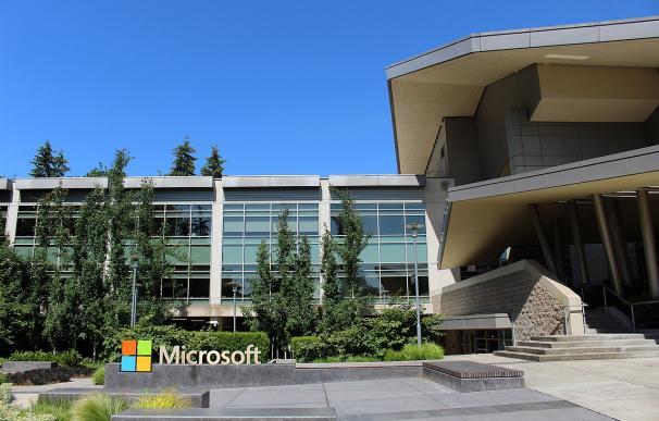Fotografía de la sede de Microsoft en Redmond (EEUU).