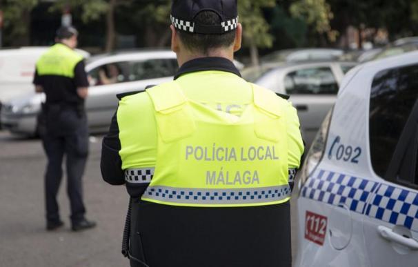 Policía Local de Málaga en imagen de archivo. /EFE