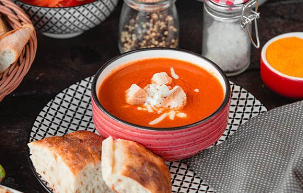 Gazpacho, una receta saludable