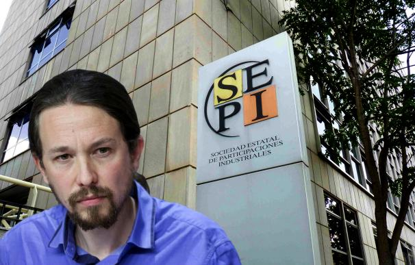 La SEPI puede ser un instrumento esencial para la entrada del Estado en el capital de empresas que pretende Pablo Iglesias