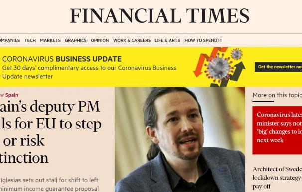 Así se fraguó la entrevista de FT a Iglesias con 10 meses de espera y el 'pacto del sur'