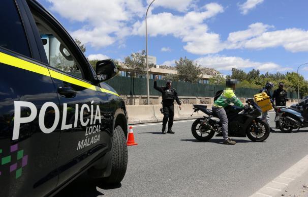 Policía Local de Málaga realiza controles de carreteras