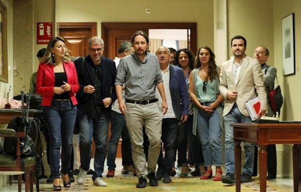Fotografía ministros de Podemos / EP