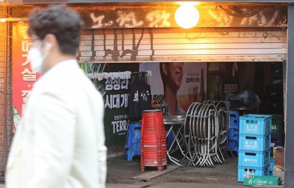 Repuntan los casos en Corea del Sur tras un brote en una zona de ocio nocturno