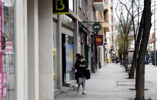 Cajero Bankia, desescalada