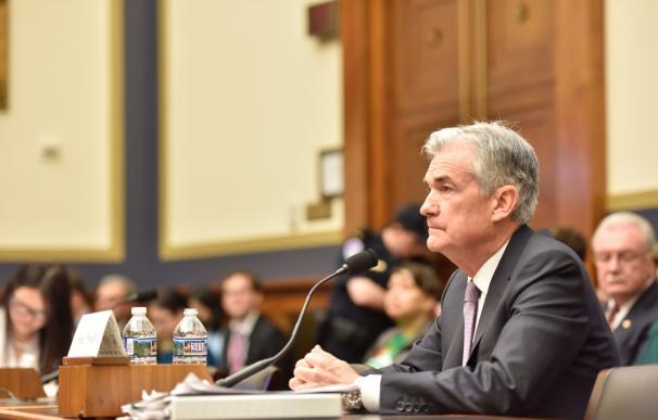 El presidente de la Reserva Federal (Fed) de Estados Unidos, Jerome Powell.