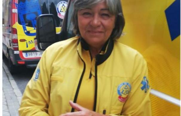 Teresa Fernández se jubila tras 28 años en el Samur