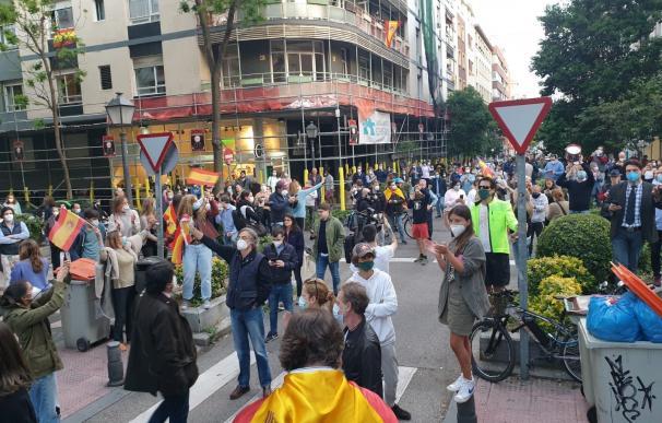 Protesta Madrid./ EP