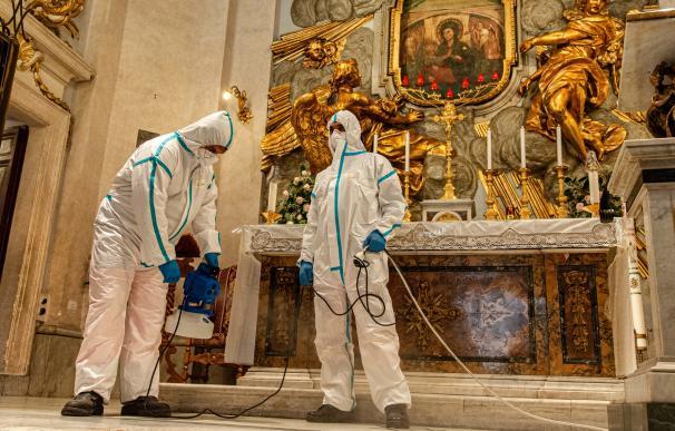 Coronavirus iglesia