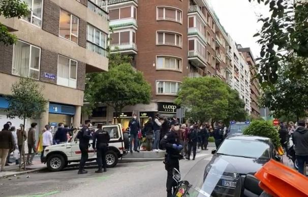 Protesta Núñez de Balboa