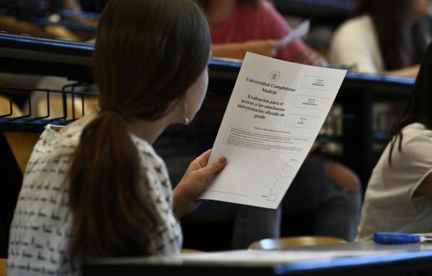 EvAU examenes estudiantes