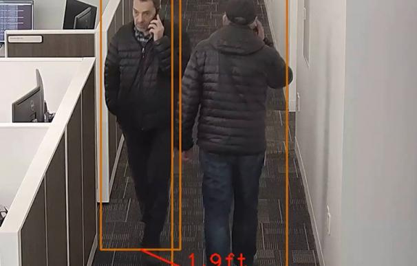 El sistema detecta el incumplimiento de normas de seguridad. /Motorola