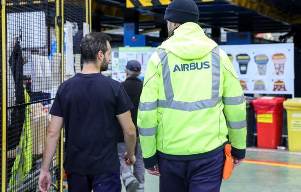 trabajador airbus