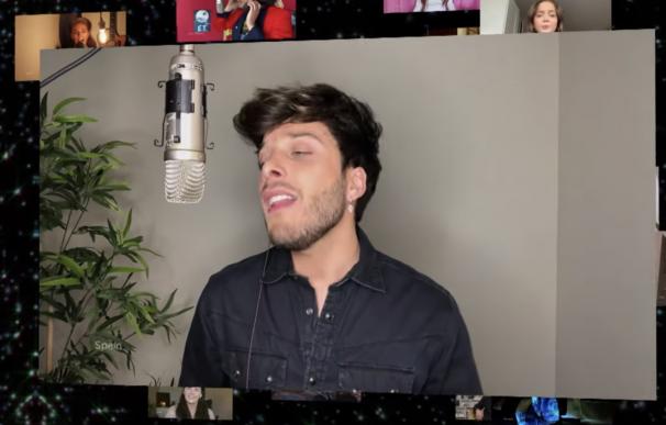 Blas Cantó, Eurovisión 2020