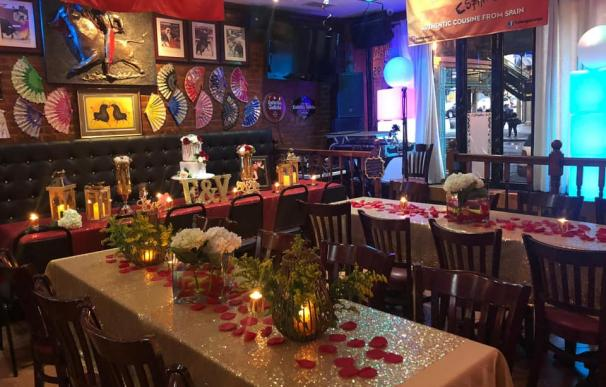 Imagen del restaurante 'Hola España' en Nueva York.