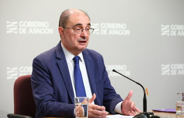 El Presidente de Aragón participa en la décima videoconferencia de presidentes autonómicos con Pedro Sánchez por el coronavirus