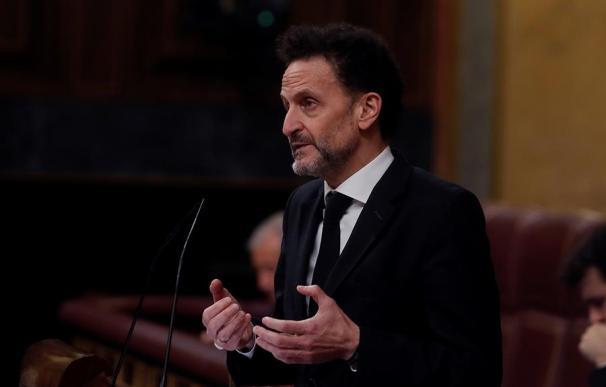 Edmundo Bal en el Congreso de los Diputados