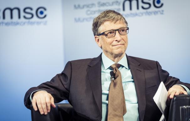 Fotografía de Bill Gates, que se suma a la lucha contra el coronavirus en busca de una vacuna.