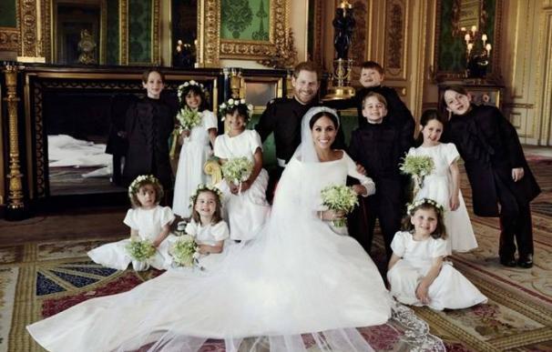 Foto oficial boda Harry y Meghan