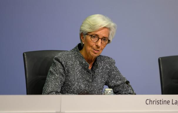 Christine Lagarde preside el BCE desde noviembre de 2019.