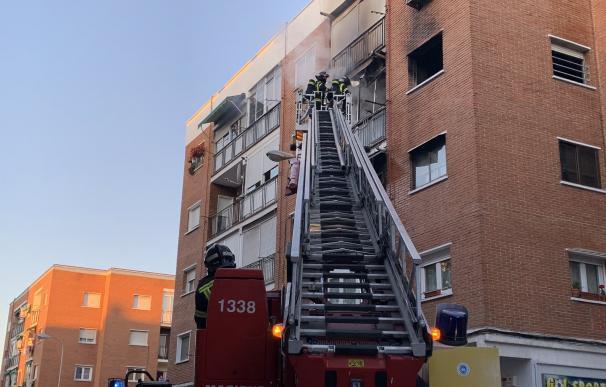 Fuego Villaverde./ Emergencias Madrid