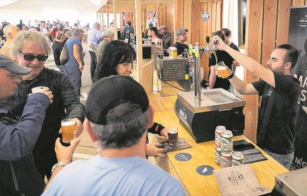España ha batido su récord de consumo de cerveza.