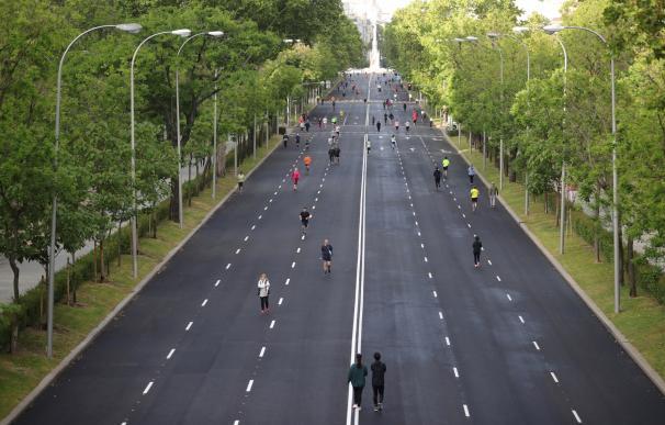 Calles peatonales en Madrid - plan de desescalada