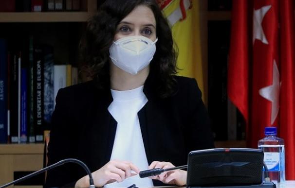 Isabel Díaz Ayuso.