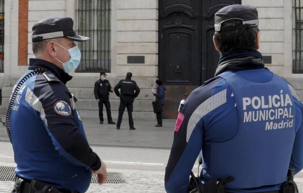 Policía Municipal Madrid mascarillas coronavirus