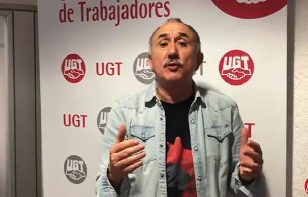 Pepe Álvarez UGT