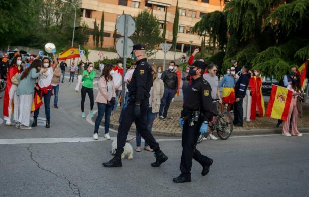 Caceroladas Madrid