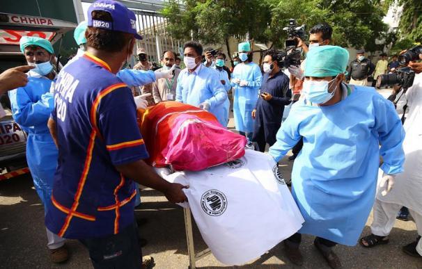 Pakistán accidente de avión