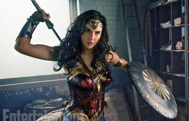 Wonder Woman luce espectacular en las nuevas imágenes de su película