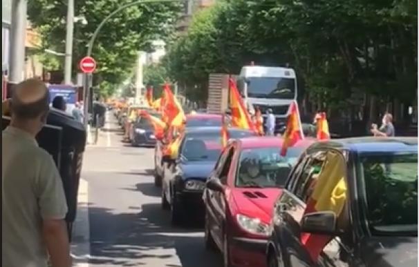 Manifestación de Vox en Jaén