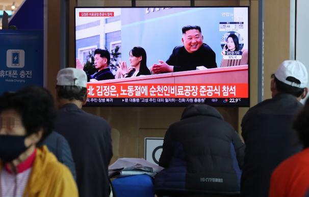 Kim Jong Un reaparece en una reunión con cargos militares de Corea del Norte