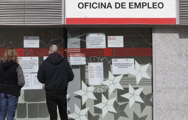 Fotografía oficina de empleo cerrada / EP