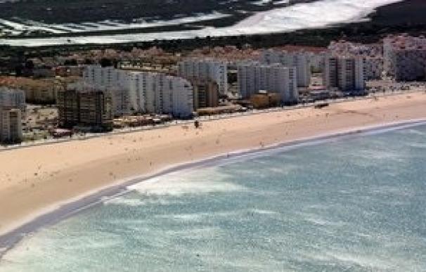 Playa de Valdelagrana en El Puerto