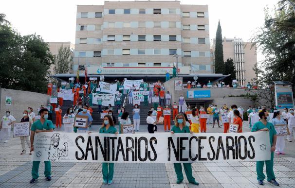 Protestas Sanitarios