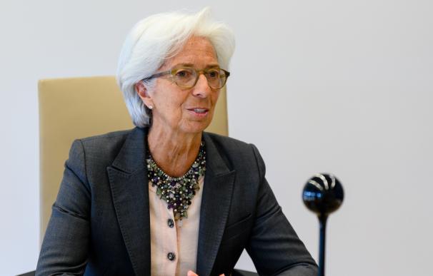 Christine Lagarde preside el Banco Central Europeo (BCE)