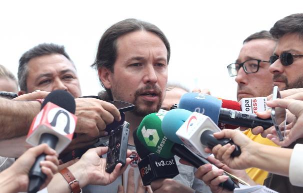 Pablo Iglesias ve una vergüenza para España que Rajoy tenga que declarar en la Audiencia Nacional y no dimita