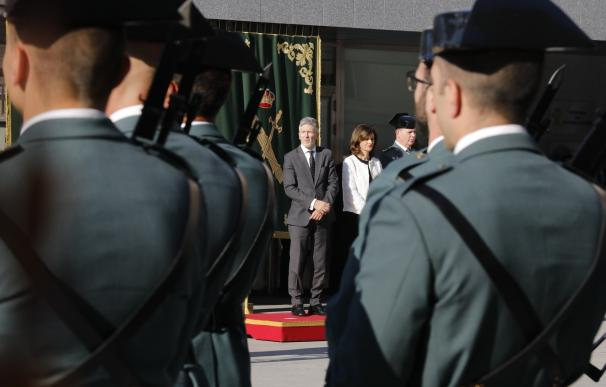 Marlaska preside la presentación de Félix Azón como director de la Guardia Civil